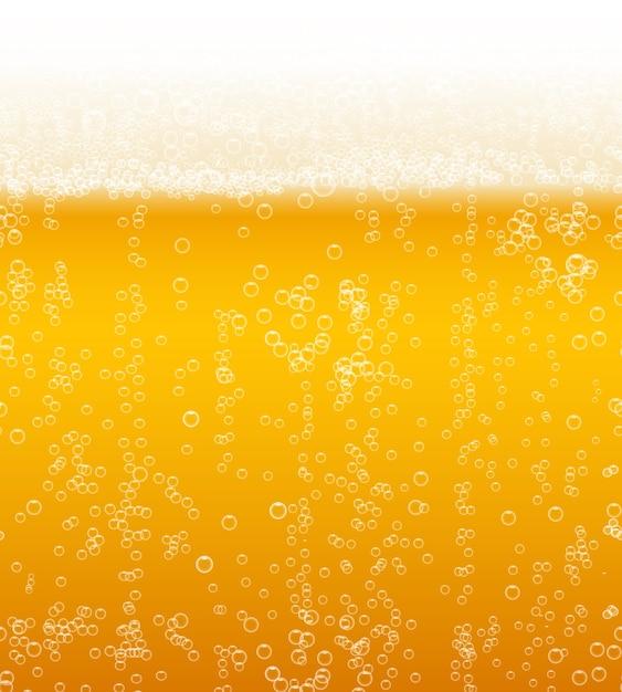 Piwo Piankowe Tło Poziomo Wzór Darmowych Wektorów
