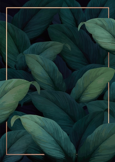 Plakat tropikalnych wibracji Darmowych Wektorów