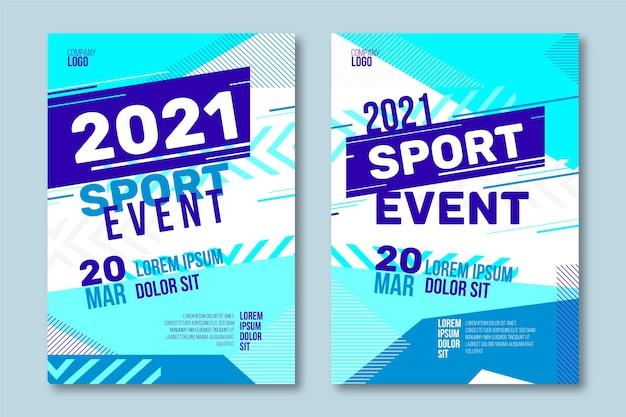 Plakat Wydarzenia Sportowego Darmowych Wektorów