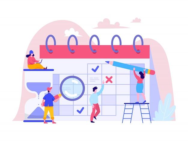 Planowanie koncepcji planowania dla strony docelowej, interfejsu użytkownika, strony internetowej, strony głównej Premium Wektorów