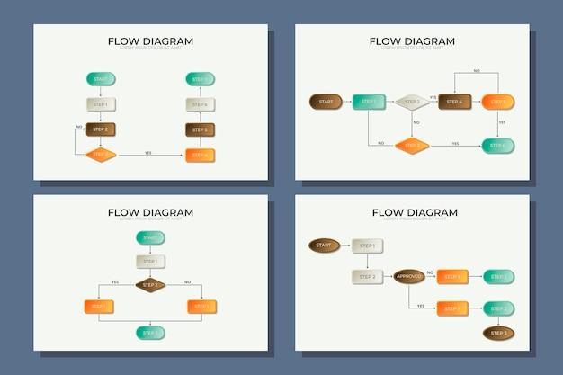 Plansza Diagramu Szablonu Darmowych Wektorów