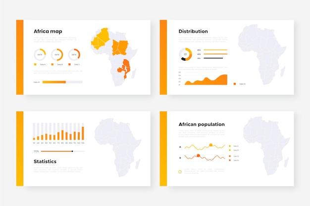 Plansza Mapy Afryki Darmowych Wektorów