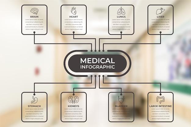 Plansza Medyczna Ze Zdjęciem Darmowych Wektorów