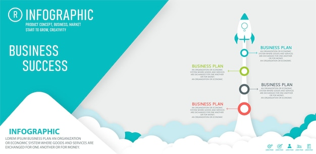 Plansza Startowa Z Szablonem Informacji Startowych. Premium Wektorów