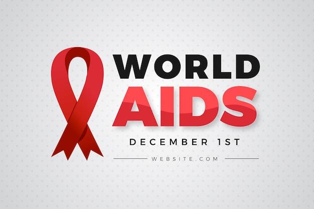 Płaska Konstrukcja światowego Dnia Pomocy Darmowych Wektorów