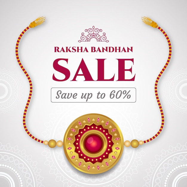 Płaska Sprzedaż Raksha Bandhan Darmowych Wektorów