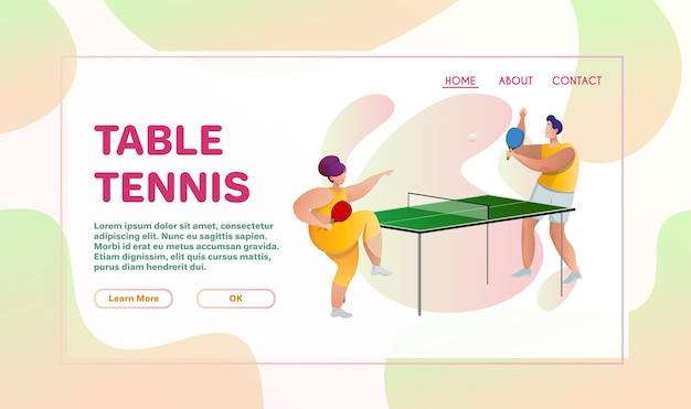 Płaskie Ilustracja Sportu Premium Wektorów