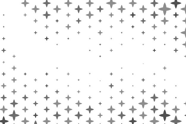 Płaskie jasne gwiazdy tła Darmowych Wektorów