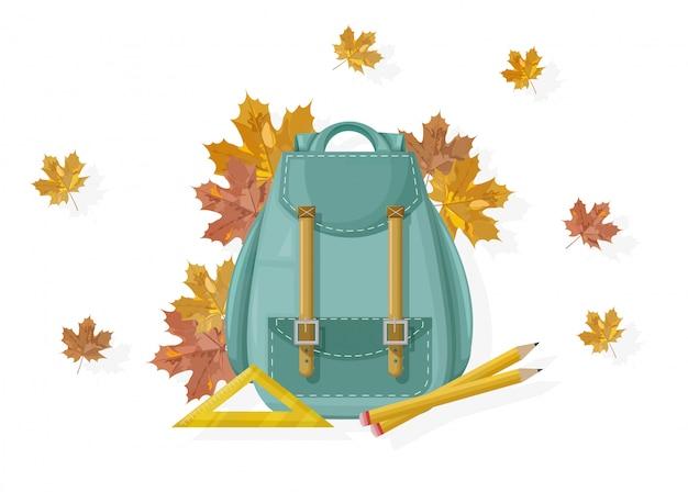 Plecak Szkolny Premium Wektorów