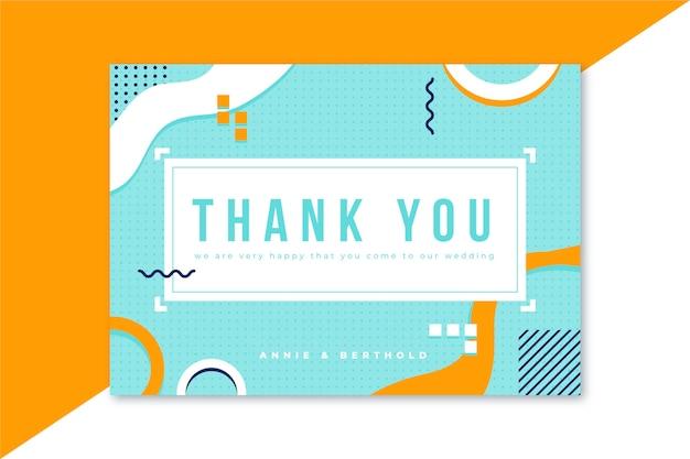 Pobieramy Się Karta Z Podziękowaniami Darmowych Wektorów