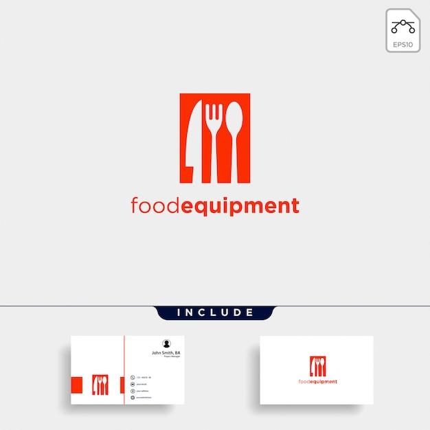 Początkowy sprzęt b żywności proste logo szablon ikona streszczenie Premium Wektorów