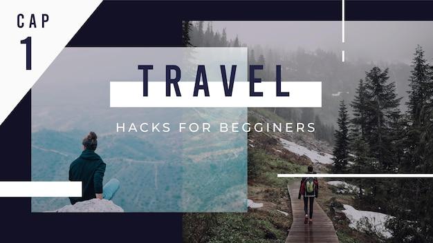 Podróżuj Miniaturą Youtube Darmowych Wektorów