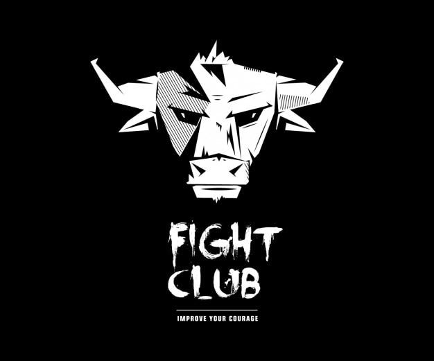 Podziemny Krąg Bull Logo Darmowych Wektorów