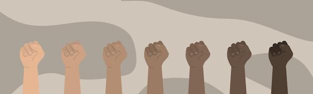 Pojęcie Jedności, Rewolucji, Walki, Ilustracji Współpracy Premium Wektorów