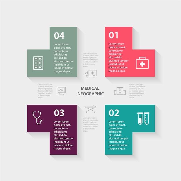 Pojęcie Opieki Zdrowotnej Z Opcjami Premium Wektorów