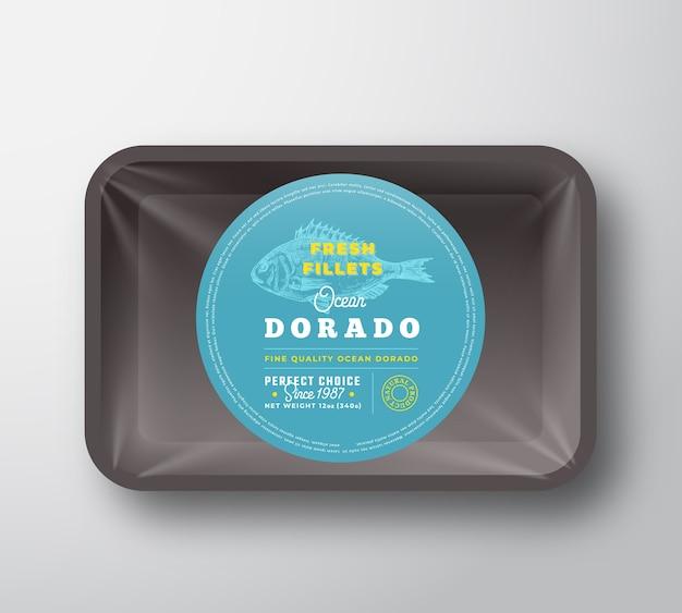 Pojemnik Ocean Dorado Fillets Darmowych Wektorów