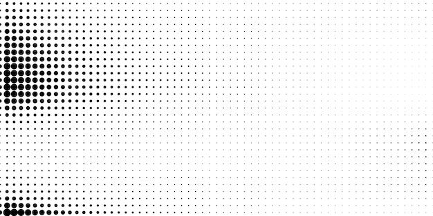 Półton W Abstrakcyjnym Stylu. Białe I Czarne Tło. Premium Wektorów