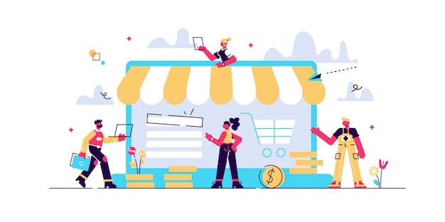 Potwierdzenie Zamówienia, Sprzedaż Online Zakupów Online, Proces Zakupu, Płatność Online, Obsługa Klienta I Dostawa, Zakupy Mobilne, Płatność Premium Wektorów