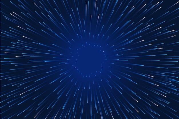 Prędkość światła Tła Z Efektem Deszczu Darmowych Wektorów