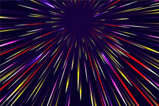 Prędkość światła W Tle Darmowych Wektorów