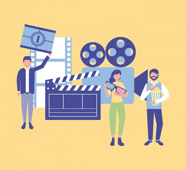 Produkcja filmowa Darmowych Wektorów