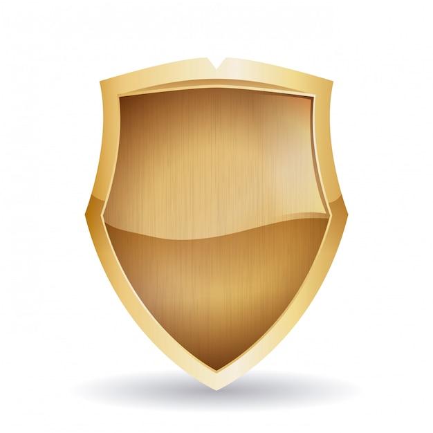 Projekt bezpieczeństwa, ilustracji wektorowych, Premium Wektorów