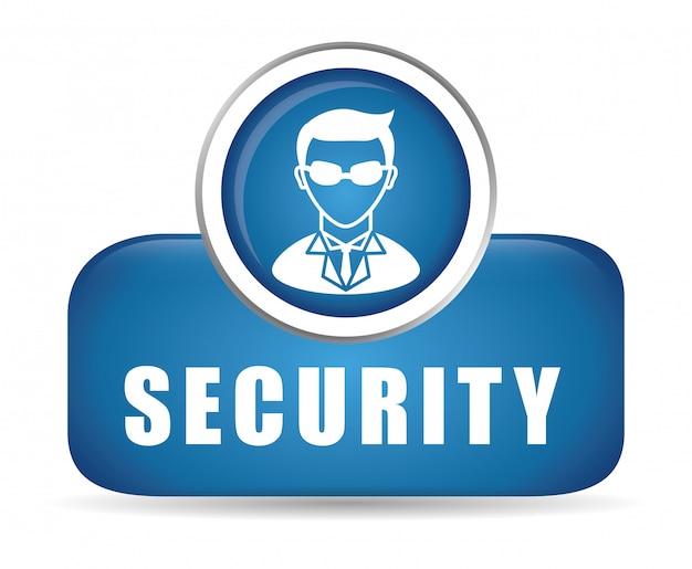 Projekt bezpieczeństwa. Premium Wektorów