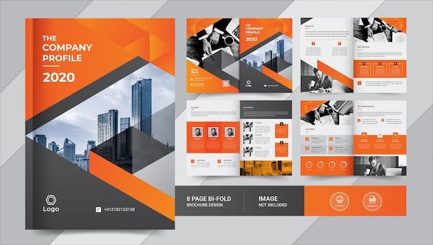 Projekt Broszury Biznesowej Premium Wektorów