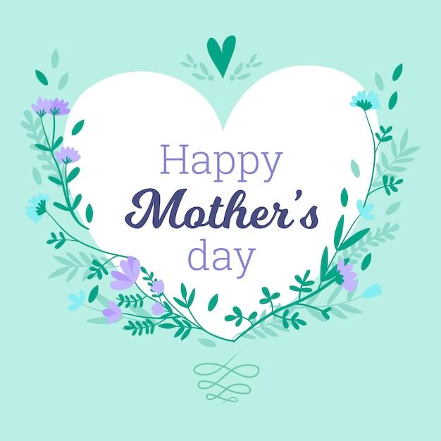 Projekt Dzień Matki Darmowych Wektorów