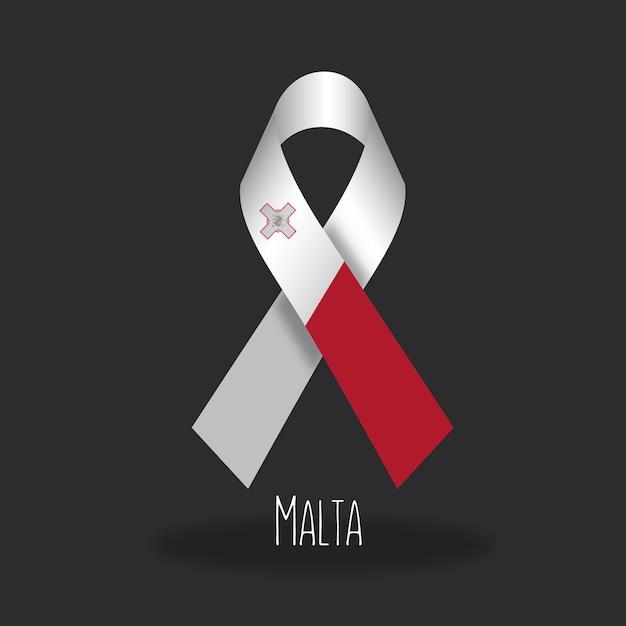 Projekt Flagi Malta Flagi Darmowych Wektorów