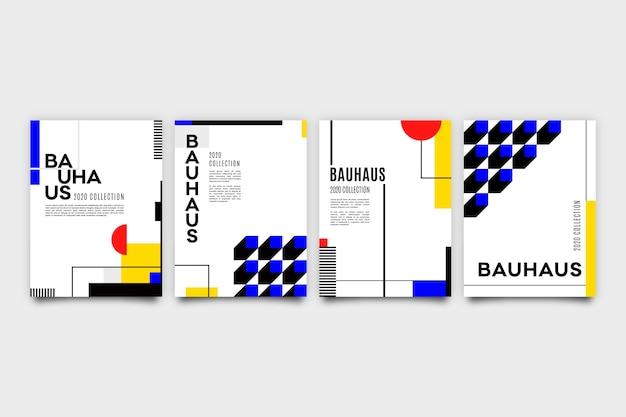 Projekt Graficzny W Stylu Bauhaus W Kropki Darmowych Wektorów