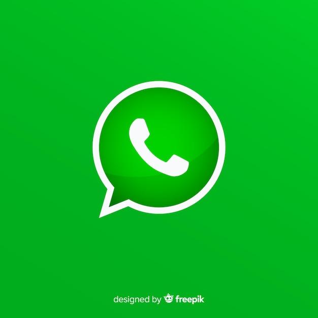 Projekt ikony whatsapp Darmowych Wektorów