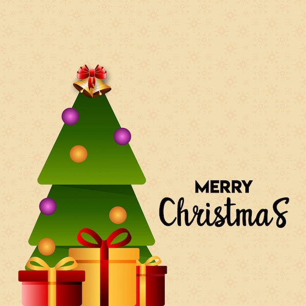Projekt Kartki świątecznej O Eleganckim Wyglądzie Premium Wektorów