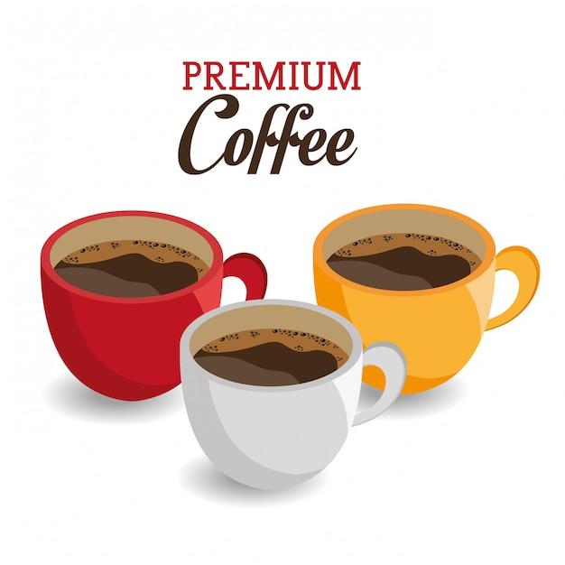 Projekt Kawy. Darmowych Wektorów