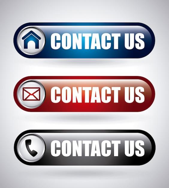Projekt komunikacji Premium Wektorów