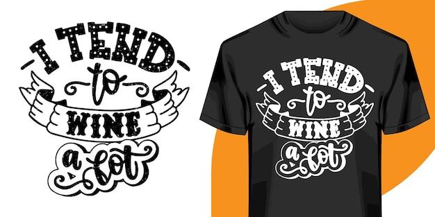 Projekt Koszulki Motywacyjne Słowa. Projekt Koszulki Ręcznie Rysowane Napis. Cytat, Projekt Koszulki Typografia Premium Wektorów
