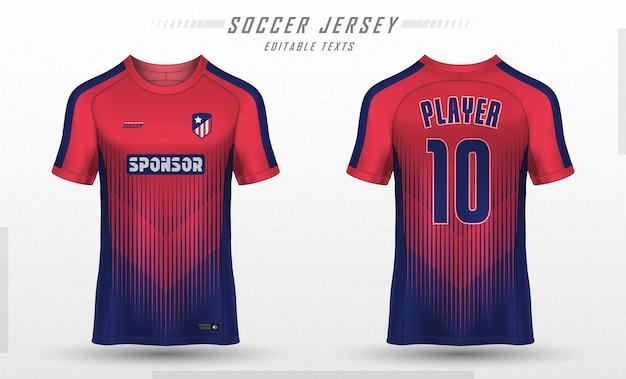 Projekt Koszulki Sportowej Koszulki Piłkarskiej Darmowych Wektorów