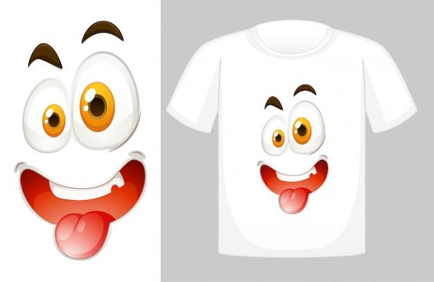 Projekt Koszulki Z Grafiką Z Przodu Darmowych Wektorów