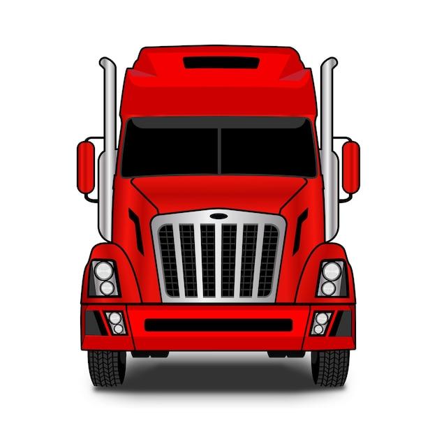 Projekt Logo Firmy Transportowej Premium Wektorów