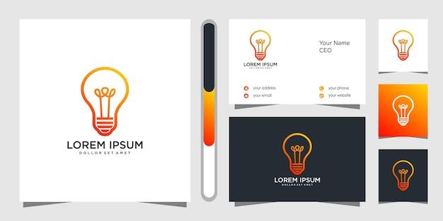 Projekt Logo I Wizytówki Premium Wektorów