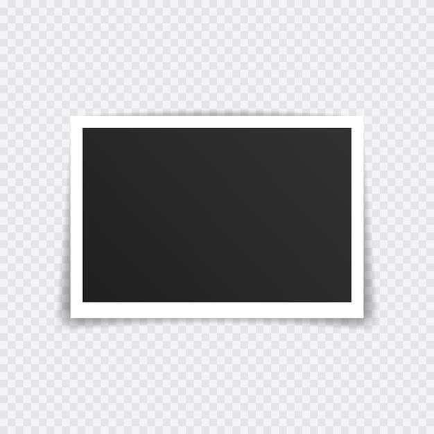 Projekt Makiety Ramki Na Zdjęcia. Super Zestaw Ramki Na Taśmę Klejącą Na Przezroczystym Tle. Premium Wektorów