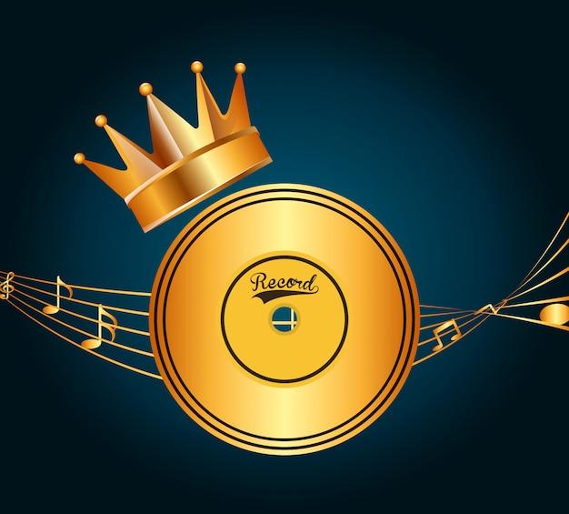 Projekt Nagrody Muzycznej Darmowych Wektorów