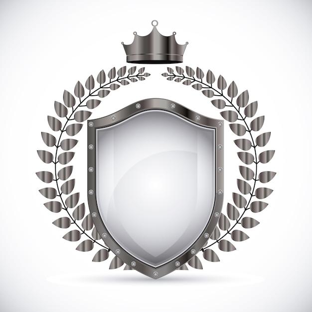 Projekt odznaki, ilustracji wektorowych. Premium Wektorów