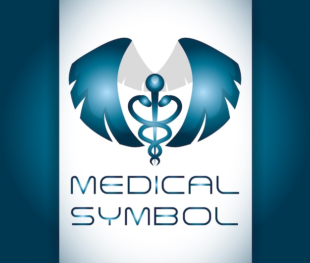 Projekt opieki medycznej Premium Wektorów