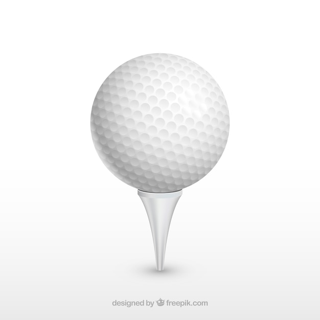 Projekt piłki golfowej Darmowych Wektorów