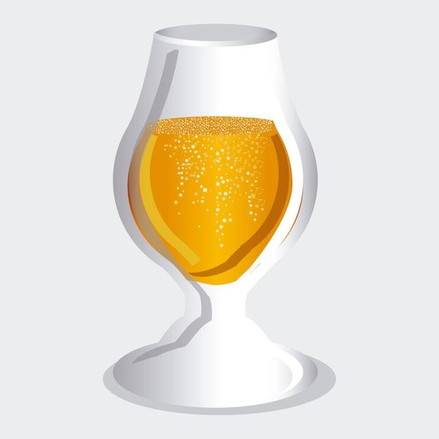 Projekt piwa Premium Wektorów