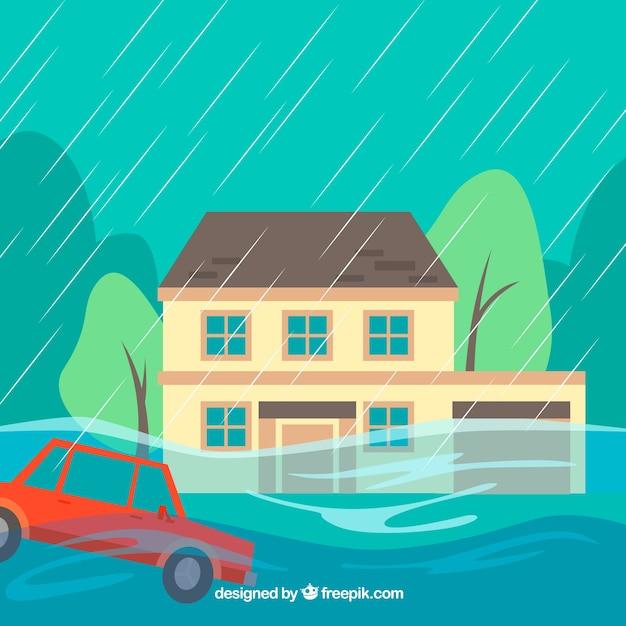 Projekt Powodzi Darmowych Wektorów