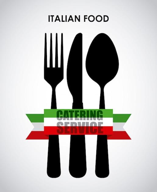 Projekt restauracji Premium Wektorów