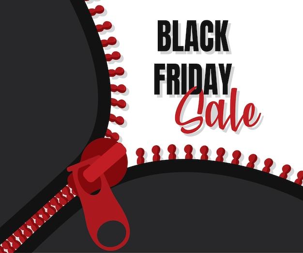 Projekt Szablonu Banera Black Friday Sale, Oferta Specjalna Wielkiej Sprzedaży. Baner Promocyjny Na Koniec Sezonu. Premium Wektorów