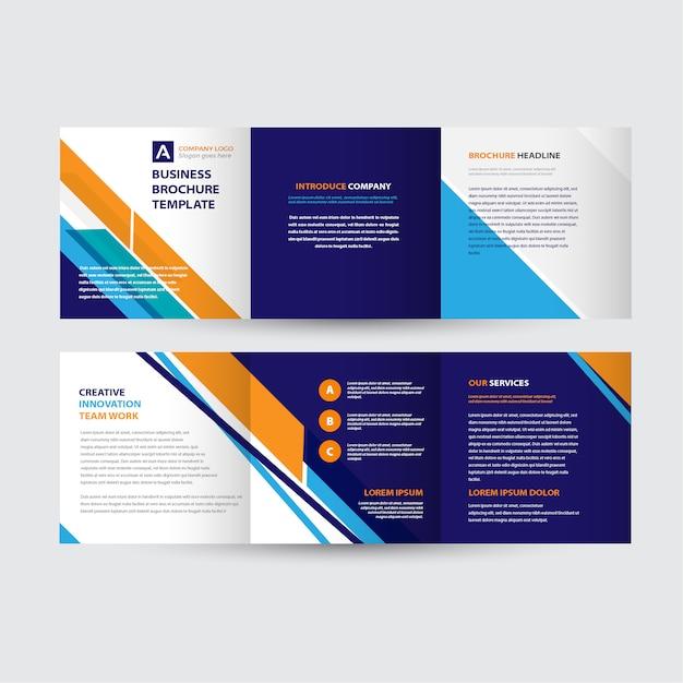 Projekt szablonu broszury Premium Wektorów